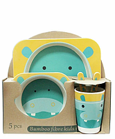BAMBOO KIDS SET - бамбукова посуд 5 предметів