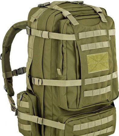 Прочный штурмовой рюкзак 65 л. Defcon 5 Eagle 65, 922257 зеленый