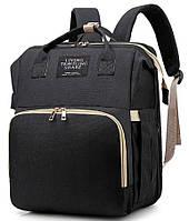 Рюкзак-кроватка органайзер для мам Living Traveling Share