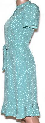 Плаття в горошок  878* 42,44,46,48, фото 2