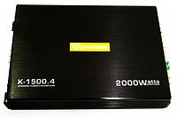 K-1500.4 ROADSTAR MR455 - автомобильный усилитель звука 2000W