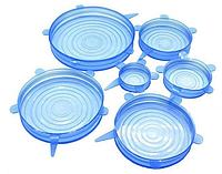 SILICON LIDS - силіконові кришки для посуду, набір 6шт