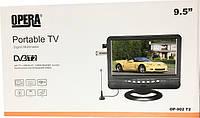 "OP-902 T2 - портативний телевізор 9,5"""