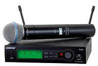 SLX4 / BETA 58A - микрофон SHURE