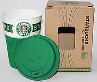 STARBUCKS - термо-чашка керамика