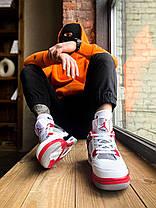 """Женские кроссовки Найк Jordan 4 Retro """"Fire Red"""", фото 3"""