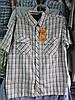 Рубашка мужская с коротким рукавом жатка норма