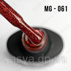 Гель-лак MG №061 (Gltiter Red), 8 мл