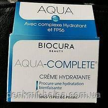 УвлажняющийкремБиокура для сухой кожи лица Biocura Aqua CompleteCreme50 мл.