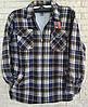 Сорочка тепла чоловіча на хутрі розмір 56 в роздріб