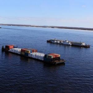 Вантажні перевезення річковим транспортом