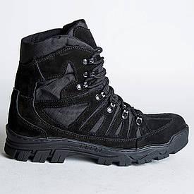 Ботинки Тактические, Зимние Комбат Черный