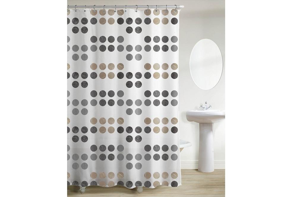 """Штора в ванную """"Изида"""" 200 x 200 см, код 15447"""