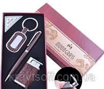 Подарочный набор брелок,ручка,зажигалка AL-009
