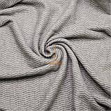 Плед шерстяной 140х200 Волна Светло-серый Love You, фото 2