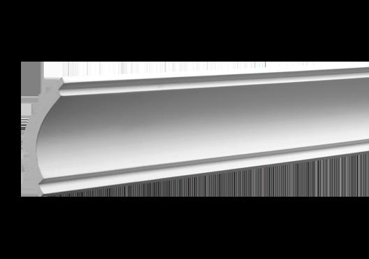 Карниз 6,50,160 для потолка с композиту  екструдируваный