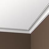 Карниз 6,50,160 для потолка с композиту  екструдируваный, фото 2