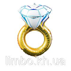 Шарик на девичник обручальное кольцо