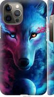 "Чехол на Apple iPhone 12 Pro Max Арт-волк ""3999c-2054-29584"""