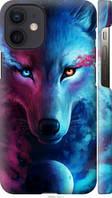 """Чехол на Apple iPhone 12 Mini Арт-волк """"3999c-2071-29584"""""""