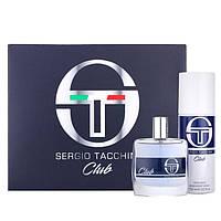 Sergio Tacchini Club Парфюмированный набор мужской (туалетная вода 50мл+дезодорант 150мл)