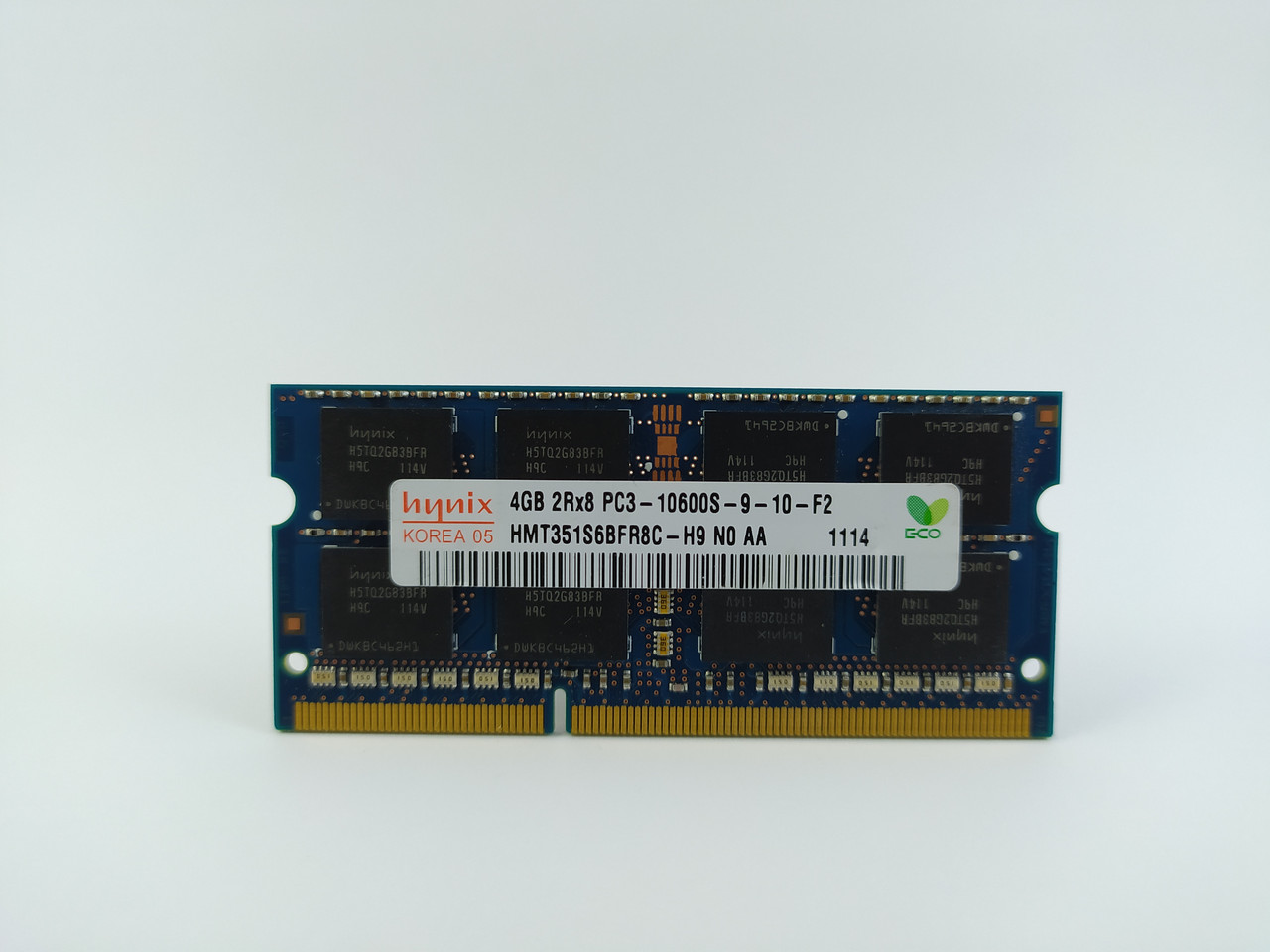 Оперативная память для ноутбука SODIMM Hynix DDR3 4Gb 1333MHz PC3-10600S (HMT351S6BFR8C-H9) Б/У