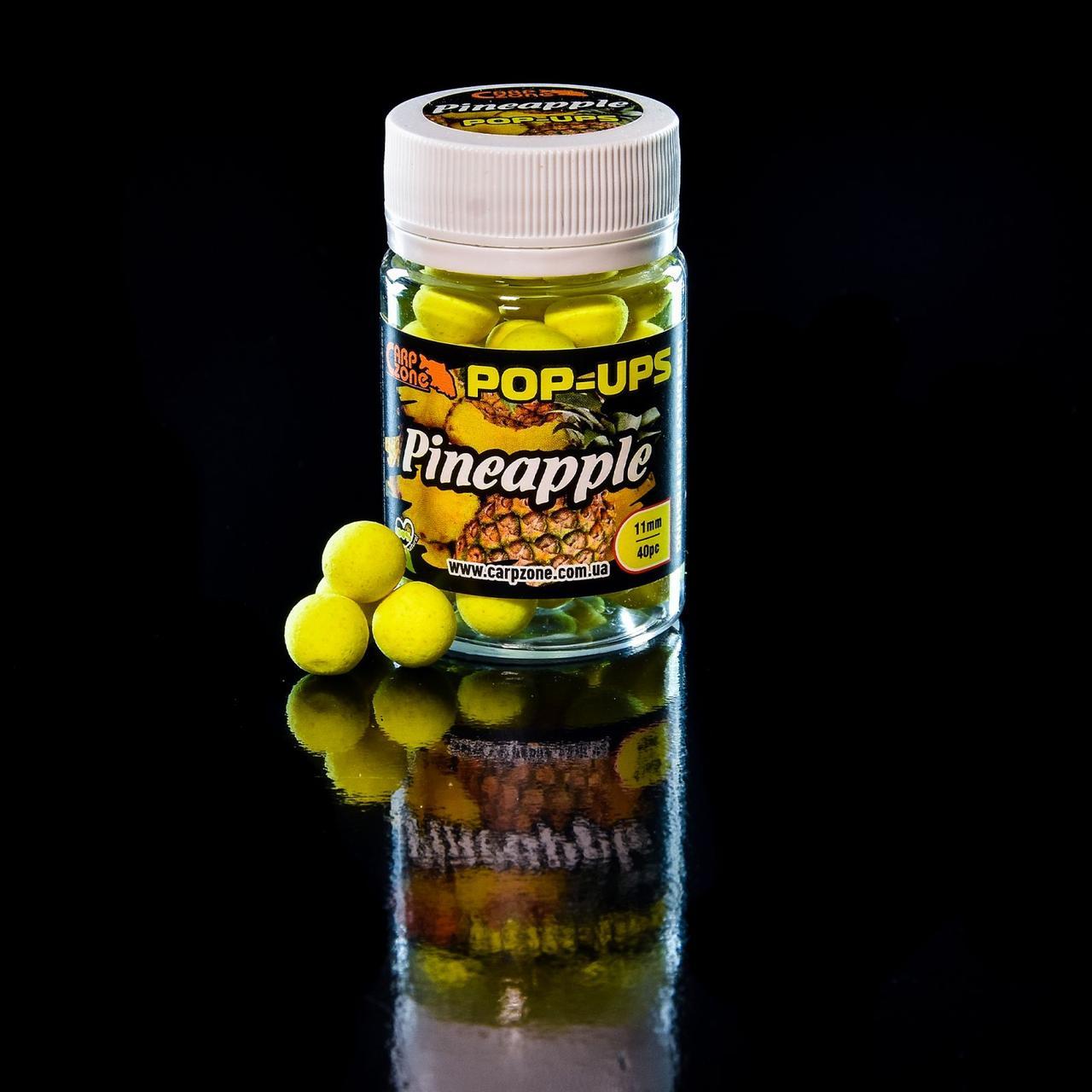 Поп Ап Pop-Ups Fluro Pineapple (Ананас) 11mm/40pc