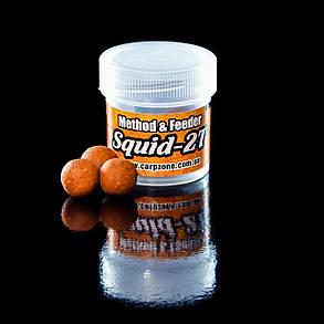 Бойлы насадочные вареные Boilies Method & Feeder series Instant Squid-2T (Сквид-Шелковица) 11mm / 40pc, фото 2