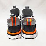 44 р. Мужские кроссовки летние Baas Бас текстиль, сетка на пене летние кроссовки Последняя пара, фото 7