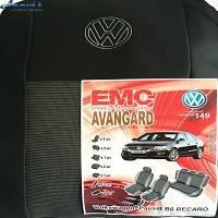 Чехлы на сиденья Volkswagen Passat B6 05- SD Recaro 149 Elegant Avangard Фольксваген Пассат