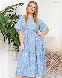Женское Летнее платье Гоа 48,50,52,54.