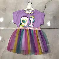 Детское платье 2-5 лет на девочек Турция оптом