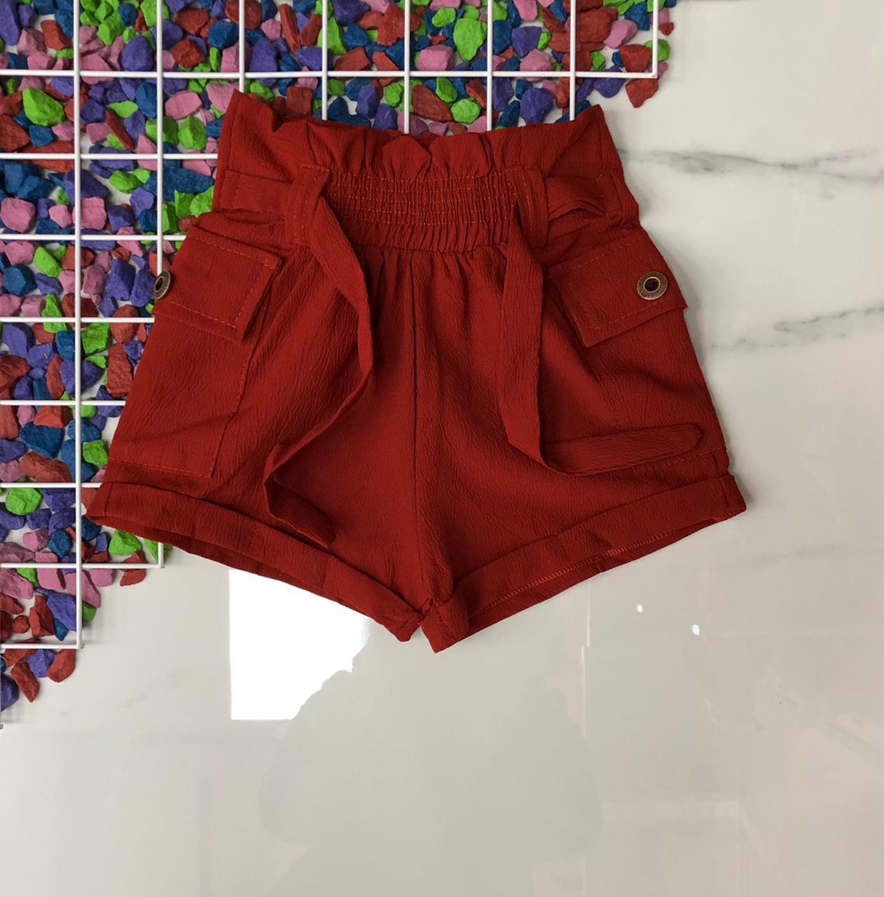 Детские шорты на девочек 6-14 лет Турция оптом