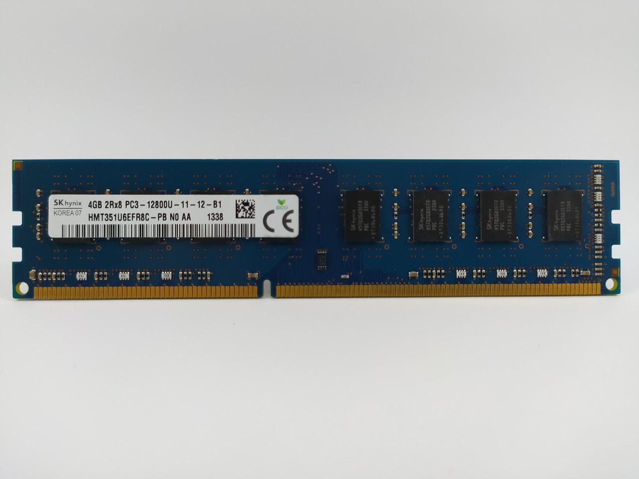 Оперативная память SK hynix DDR3 4Gb 1600MHz PC3-12800U (HMT351U6EFR8C-PB) Б/У