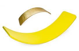 Детская спортивная доска рокерборд (Balance Board). Yellow (1167433277)