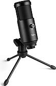 Студийный микрофон FlyDay F3 (USB) со штативом Black