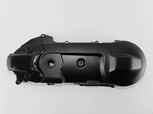 Крышка картера 2т 50сс ремень/Yamaha (Ямаха), с дыркой и накладкой