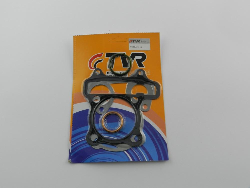 Прокладки цилиндра 4т GY6 150cc (150 кубов), o-57,2 мм, (комплект), TVR
