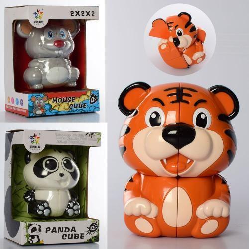Гра головоломка, тварина 14 см, рухомі деталі, в коробці 15-20-11 см