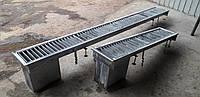 Трап (лоток) канализационный из нержавеющей стали
