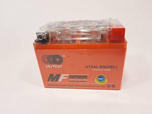 Аккумулятор 12в 4а GEL оранжевый OUTDO