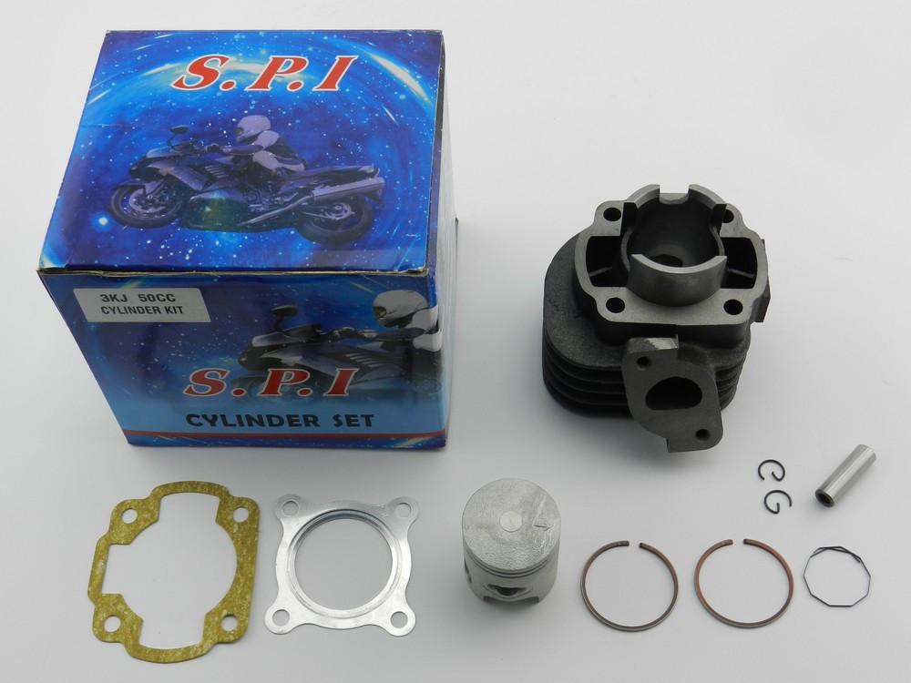 Поршневая (ЦПГ) Yamaha (Ямаха) Jog 3KJ/5BM/ Axis/Aprio/Artistic, 50cc (50 кубов), SPI (тайвань)