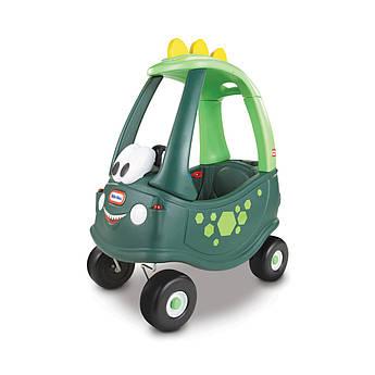 """Машинка-каталка серії """"Cozy Coupe"""" - автомобільчик ДИНО з батьківською ручкою"""