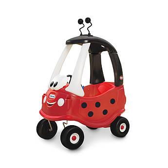 """Машинка-каталка для дітей серії """"Cozy Coupe"""" - СОНЕЧКО з батьківською ручкою"""
