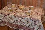 Скатерть лен 140 -180, фото 2