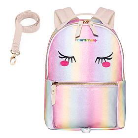Детский рюкзак Mommore Глазки Розовый