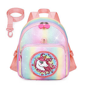 Дитячий рюкзак Mommore Unicorn Градієнт