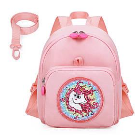 Дитячий рюкзак Mommore Unicorn Рожевий