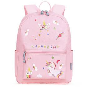 Дитячий рюкзак Mommore Unicorn з наклейками і літерами