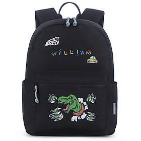 Дитячий рюкзак Mommore Unicorn з наклейками і літерами Чорний